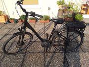 Fahrrad E-bike schwarz