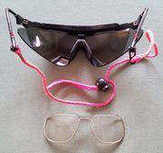 Skibrille mit Optiker-Brillengläsern von CUSTOM
