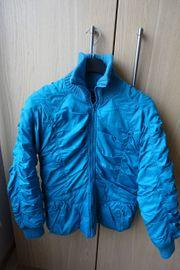 Damenjacke Winterjacke Steppjacke neuwertig türkisblau