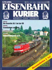 Eisenbahn Kurier-Modell und Vorbild 4
