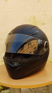 Motorradhelm schwarz xxl 63-64