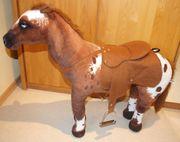 Reittier Cowboy-Pferd stehend 80 cm