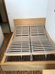 IKEA Bett Malm incl verstellbarer