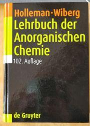 Lehrbuch der Anorganischen Chemie Holleman-Wiberg