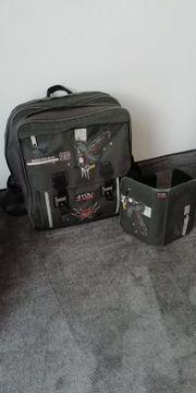 4You Schulrucksack mit Mäppchen