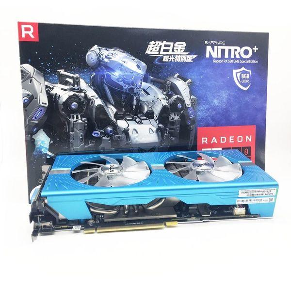 Sapphire Nitron+ Graphics Card RX 590 8Gb Gpu Gaming Graphics Cards GPU Mining Rig