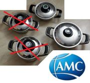 2x AMC Topf Visiotherm Induktion