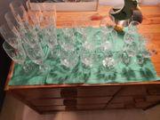 24 Stück diverse Kristall Gläser