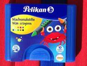 Wachsmalstifte Pelikan 10 Farben