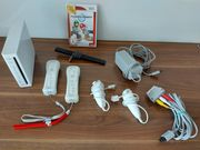 Wii Spielekonsole mit Mario Kart