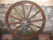 Holzrad Wagenrad Speichenrad