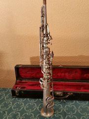 Seltenes Sopran Saxophon Firma LYRIST-Frankreich