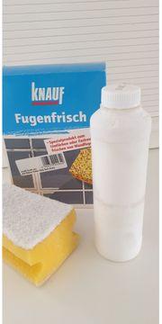 Bad-Fugenfrisch zur Farbauffrischung von Wandfugen