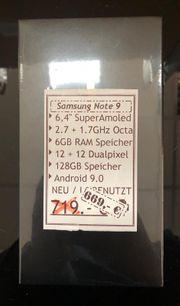 Samsung Galaxy Note 9 -128GB