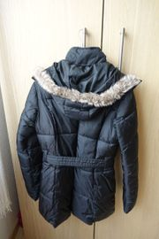Steppjacke Winterjacke Damenjacke schwarz neuwertig