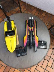 Modellbau Sportbootflotte Walter
