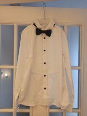 weißes Hemd mit Fliege - Jungs -