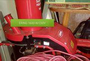 ERING 230-V 1600 W Kompost-Häcksler