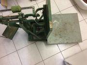 Alte Kartoffelwaage - Dezimalwaage - Tragkraft 150