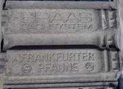 Dachziegel BRAAS Frankfurter Pfanne dunkelgrau