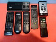 Fernbedienungen Konvolut Saba - Toshiba - Kathrein -