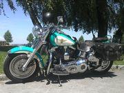 Harley Davidson Fatboy mit schönes