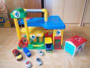 Wader Pakhaus Playmobil Garage LKW