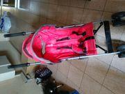 Buggy Kinderwagen rot vom Baby
