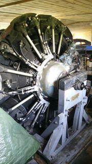 Sternmotor ASch-62IR 9-Zylinder 1000PS