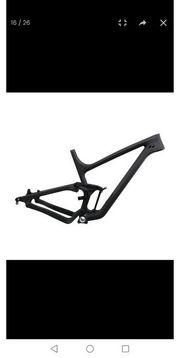 MtB Fully Fahrrad Rahmen