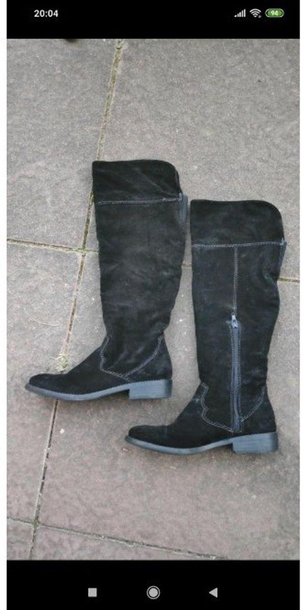 Stiefel von Tamaris schwarz