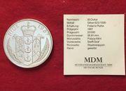 Silbermünze Steffi Graf 50 Dollars