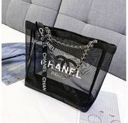 Chanel mesh tasche shopper designer