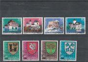 Briefmarken Schweiz Mi -Nr 1130-33