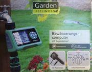 Bewässerungscomputer mit Regensensor unbenutzt