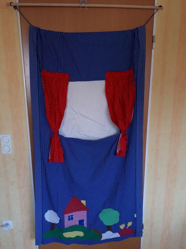 Vorhang Kasperletheater Puppentheater von Kollektion