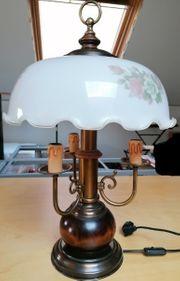 Tischlampe Landhausstil 3-flammig