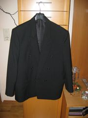Anzug schwarz Größe M Maßanfertigung