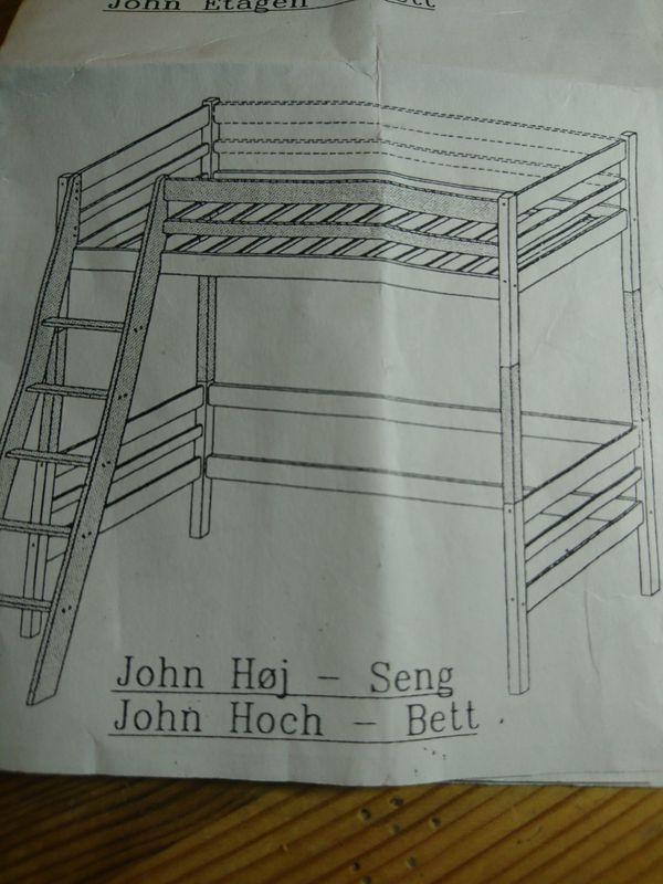 Hochbett Modell John von Möbelum