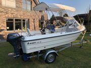 Wie NEU Führerscheinfrei SET Konsolenboot