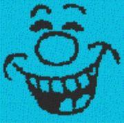 Vorlage für Ministeck Smiley22 40x40cm