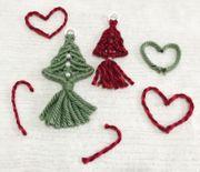 weihnachtsbaum Dekoration Deko handgemacht