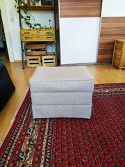 Sitzwürfel Würfelhocker mit Fach Stauraum