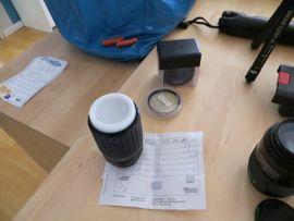 Foto und Zubehör - Spiegelreflexkameras mit Zubehör u a