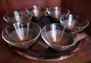 Teeservice Kupfer 50 60er Jahre