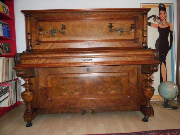 Klavier Ferdinand Thürmer Jugendstil Gründerzeit