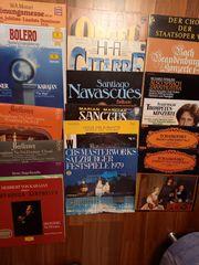 Schallplatten Klassik Musical 70er u