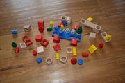 Nic cubio Holzspielzeug zum Stecken