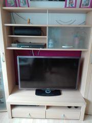 Wohnwand TV-Board plus Element mit