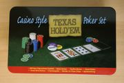 Poker Set Texas Hold em -